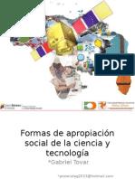 CTS Apropiacion Social de la ciencia