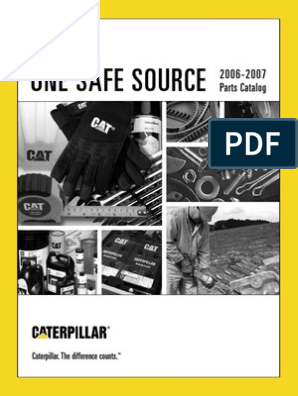 One Safe Source CAT | Loader (Equipment) | Battery (Electricity)