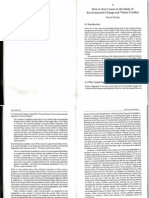 Dessler (1994) How to Sort Causes in the Study of Environmental Change and Violent Conflict (PRIO Report 2-94, Pp 91-112)