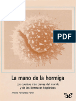 Fernandez Ferrer, Antonio - La Mano de La Hormiga