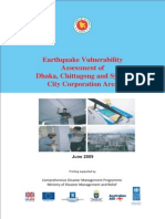 Earthquake Vulnerability Assessment of Dhaka, Chittagong & Sylhet City Corporation Area - 2009