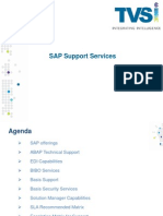 SAP Support Services - Overview