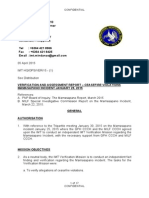 Verification and Assessment Report – Ceasefire Violations Mamasapano Incident January 25, 2015