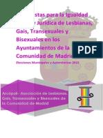 Propuestas de ARCÓPOLI incluidas en el PROGRAMA ELECTORAL 2015 PSM Arroyomolinos