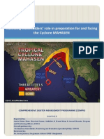 Report- Assessment Stakeholders' Role in Preparation for and Facing the Cyclone MAHASEN-2013
