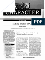 Teaching themes of care