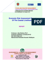 Report - Economic Risk Assessment to Disaster Towards Coastal Livelihood