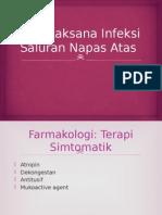 Terapi Farmakologi dan Nonfarmakologi Infeksi Saluran Napas Atas.pptx