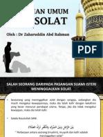 Kesilapan Biasa Dalam Solat - Dr Zaharuddin Abdul Rahman