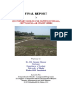 Report - Quaternary Geological Mapping of Dhaka,Chittagong and Sylhet Cities