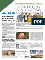 Asbury Park Press front page Monday, April 13 2015
