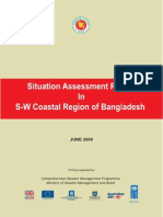 Report - Situation Assessment Report in S-W Coastal Region of Bangladesh - 2009