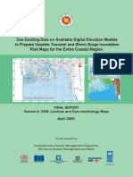 Report - Tsunami and Storm Surge Inundation Risk Maps for the Entire Coastal RegiDEM, Landuse and Geo-morphology Maps - 2009