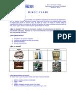 Unidad 8vo El Reciclaje - 7mo Basico