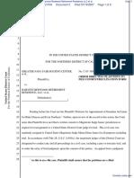 Greater Napa Fair Housing Center et al v. Harvest Redwood Retirement Residence LLC et al - Document No. 3