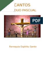 Cantos Celebracion Espiritu Santo Triduo Pascual