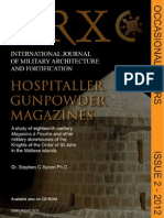 Arx Occasional Papers - Hospitaller Gunpowder Magazines