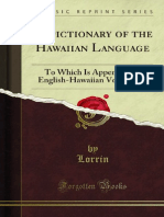 A Dictionary of the Hawaiian Language 1000730818