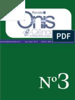 3ª Edição Da Revista Onisciencia