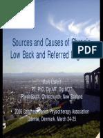9.50 - 10.35 Mark Laslett Patho-Anatomic Sources