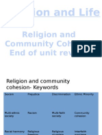 religion and community cohesion revision booklet