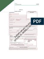 Oposiciones Docentes 2015 - Anexo III. Modelo de Solicitud -No Oficial- e Instrucciones Para Formalizarlo