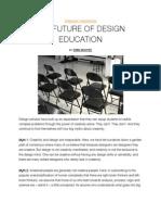 The Future of Design Education