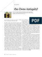 BookReview Who Owns Antiquity