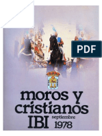 1978 - Libro Oficial de Fiestas de Moros y Cristianos de Ibi