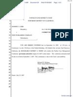 Lobb v. West Publishing Corporation et al - Document No. 20