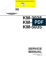 KYOCERA KM-3035 4035 5035 Service Manual Pages
