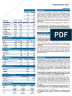 Markets for You-April 13 2015
