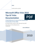 VISIO 2010 Tips and Techniques Handouts