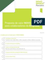 Proposta de Valor Para Colaboradores de Empresa Cliente Novo Banco_Abr15