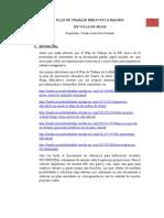 Plan de Trabajo de La Biblioteca IES Villa de Mijas