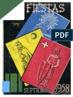 1958 - Libro Oficial de Fiestas de Moros y Cristianos de Ibi