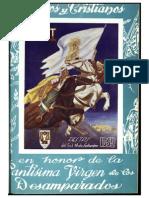 1952 - Libro Oficial de Fiestas de Moros y Cristianos de Ibi