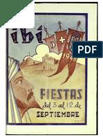 1948 - Libro Oficial de Fiestas de Moros y Cristianos de Ibi
