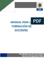 Manual Para La Formación de Docentes