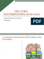 Gestion Del Clima Socioemocional en El Aula