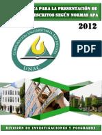 NORMAS APA Version Octubre 22 de 2012