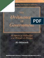Al-Mawardi - The Ordinances of Government - Al-Ahkam as-Sultaniyyah