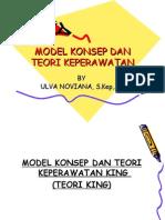 Model Konsep Dan Teori Keperawatan Johson
