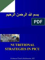 Mahmoud Tarek PICU Nutrition Fainal 29-3-09
