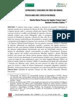 LIBERDADE DE EXPRESSAO E DISCURSO DO ÓDIO NO BRASIL