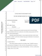 Montenegro v. Curry - Document No. 2