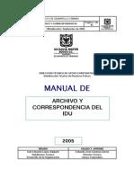 Manual Correspondencia