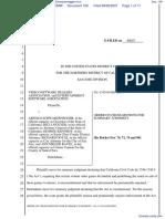 Video Software Dealers Association et al v. Schwarzenegger et al - Document No. 106