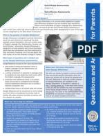 Parent Brochure GA Milestones Q and a 2014-2015
