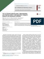 1H 1,2,3 Triazoletethered Isatin 7 Chloroquinoline and 3hydroxyindole 7-Chloroquinoline Conjugates Synthesis and Antimalarial Evaluation
